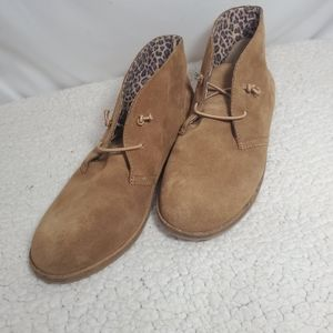 Lucky Brand Ashbee Chukka Suede Ankle Boots